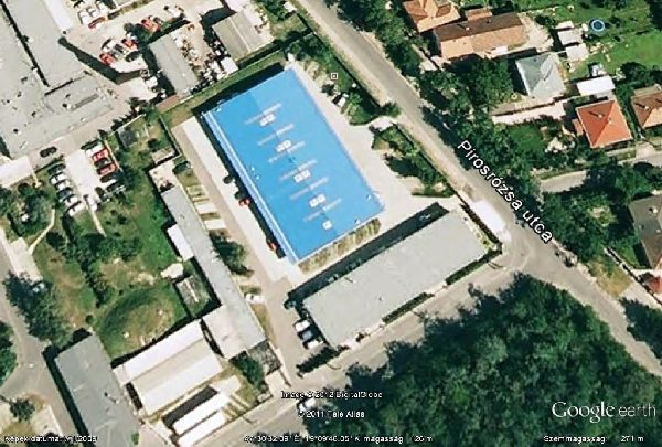 EMG strand Google Maps