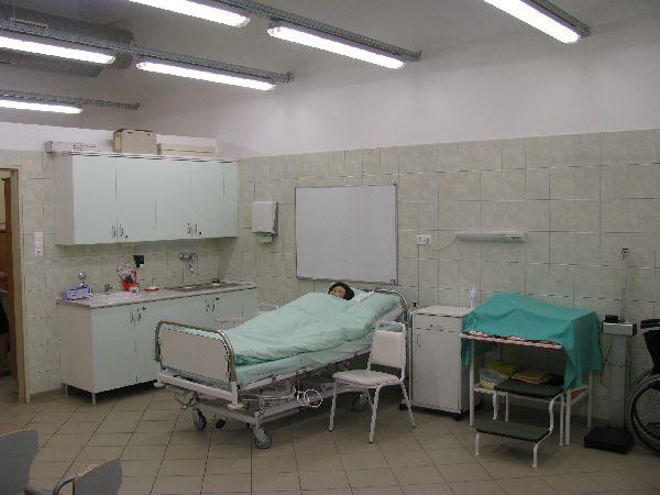 Demonstrációs-gyakorló szoba