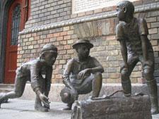 Paul street boys statue