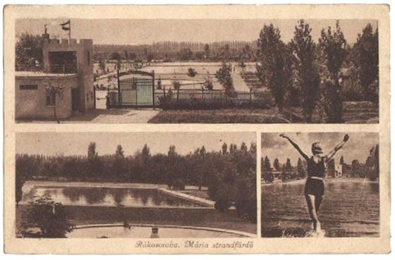 Rákoscsabai (Mária) Strandfürdő régen
