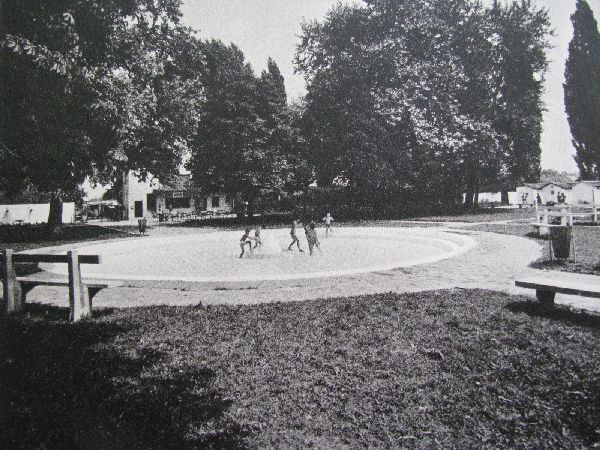 Rákoscsabai (Mária) Strandfürdő medence régen