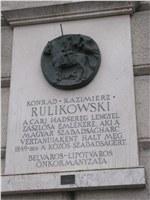 Rulikowski emléktábla