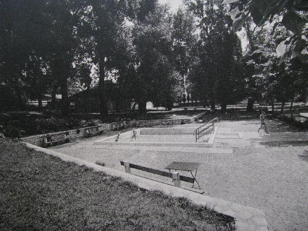 Rákoscsaba-Újtelepi Strand medence régen