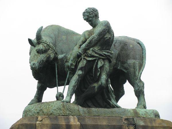 Közvágóhíd szobor